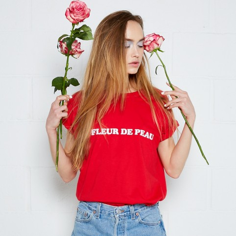 T-Shirt Mona Rouge