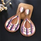 Boucles Juditte en bois rose