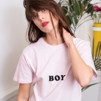 T-shirt Boy rose