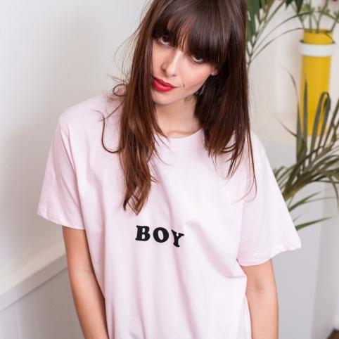 T-shirt Boy rose
