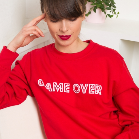Sweat game over rouge