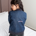 Bomber Amore in denim