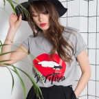 T-Shirt Aperitivo Gris F