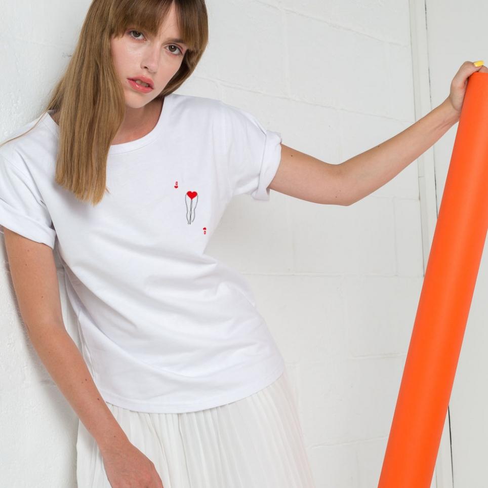 T-Shirt Dame de Qoeur