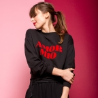 "Sweat ""Amor Mio"" Noir"
