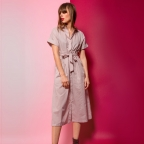 Dress Barbara Pink Dots