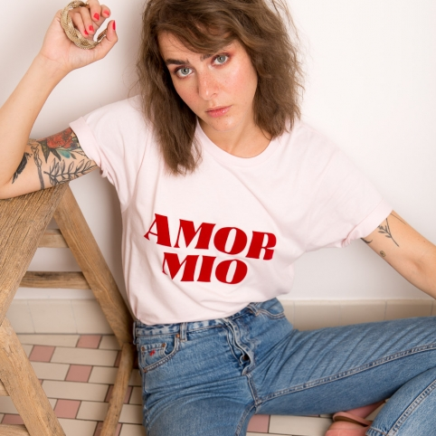 T-Shirt Amor Mio Rose