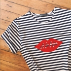 T-shirt A la Folie rayé