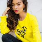 Sweat Tanto Love Jaune