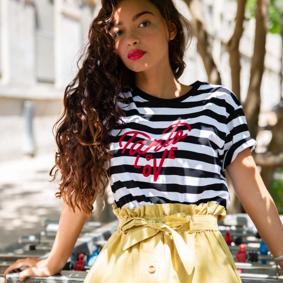 T-shirt Tanto Love marinière