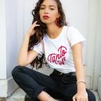 T-shirt Tanto Love blanc