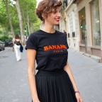 T-shirt Banane Paris Noir