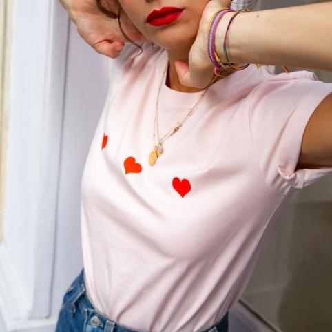 T-shirt Celine rose