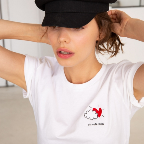 T-shirt Oh Sole Mio