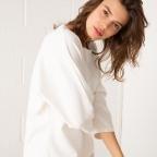 Pull Sofia blanc