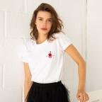 T-shirt Couché de Cerise