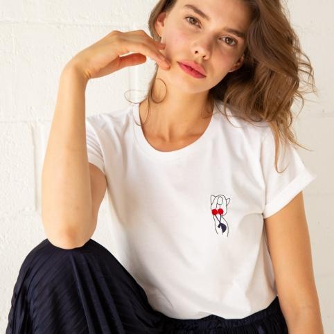 T-shirt Femma Cerise