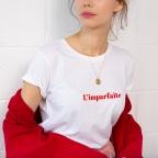 T-shirt L'imparfaite white