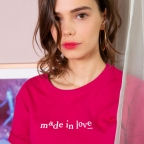 T-Shirt-Made-in-love-cherry