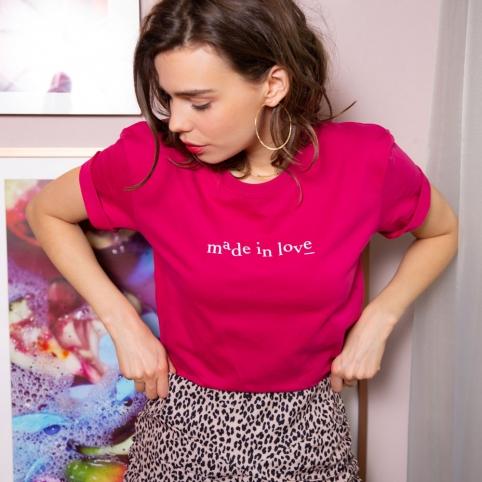 T-Shirt-Made-in-love-cherry