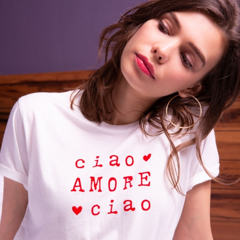 T-shirt-Ciao-Amore-Ciao