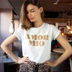 T-shirt Amor Mio gold