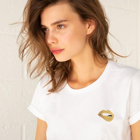 T-shirt Martina Gold
