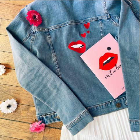 Veste en jeans Martina Loves