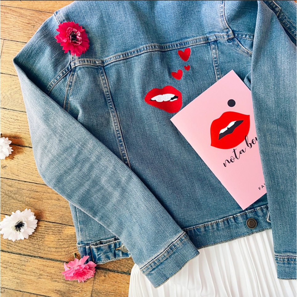 Veste en jeans Martina Loves