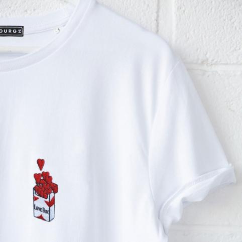 T-shirt Love Box homme