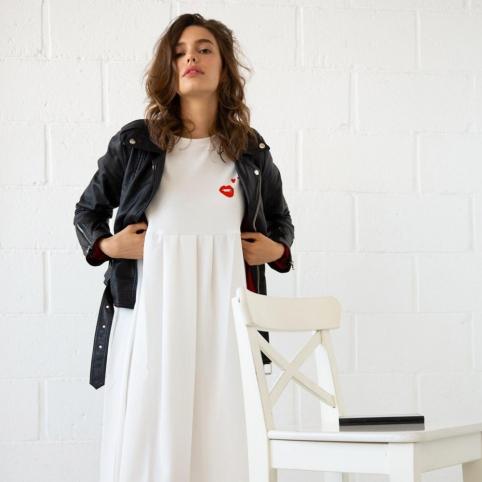 Robe Isabella blanche