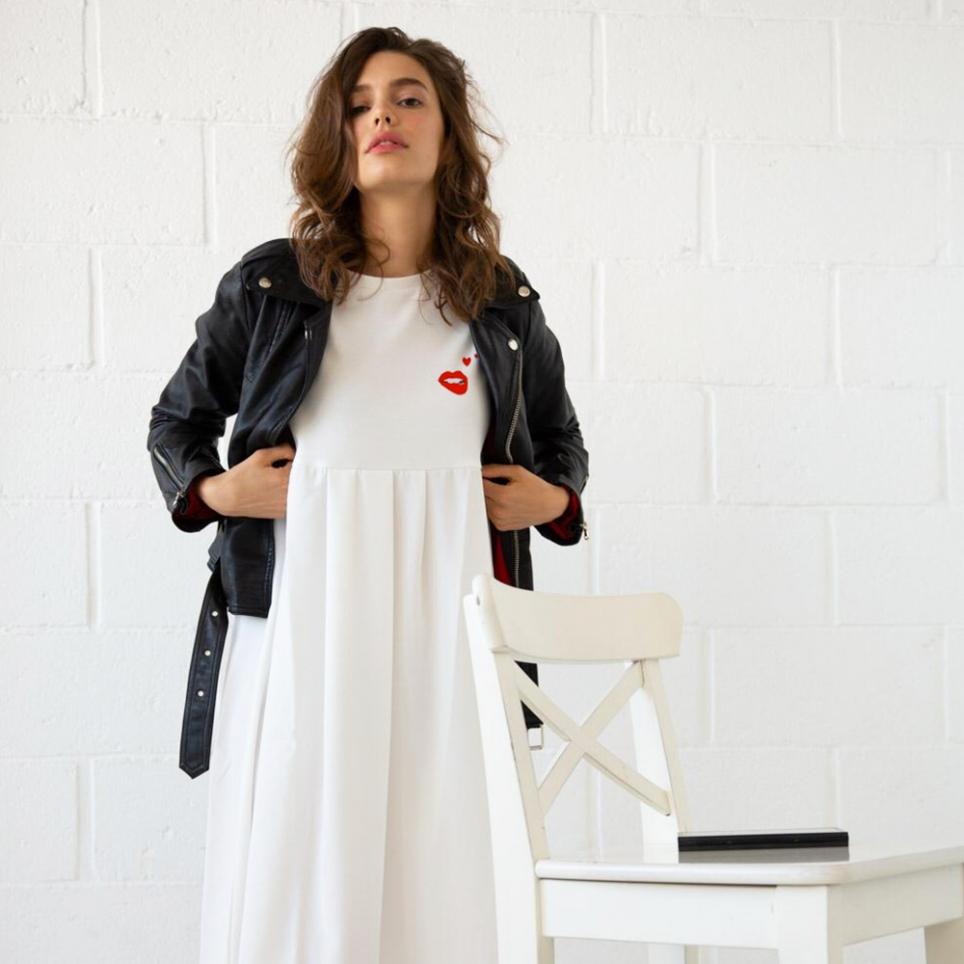 Dress Isabella white