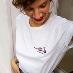 T-Shirt Italian Love Story Pink