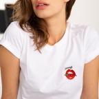 T-Shirt Piccante Blanc