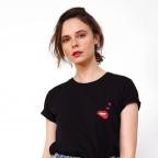 T-Shirt Martina Loves Noir