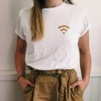 T-Shirt Wifi Gold