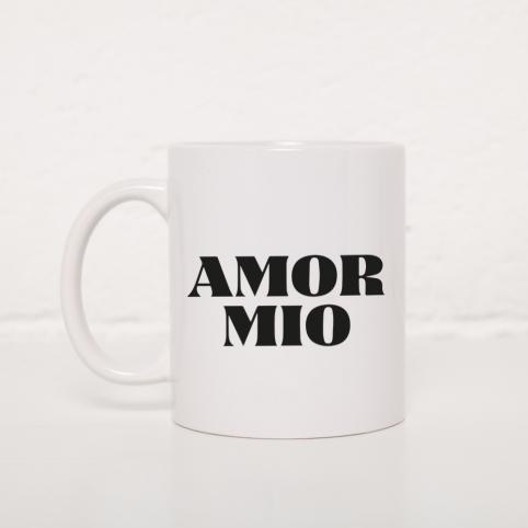 Tasse Amor Mio Noir
