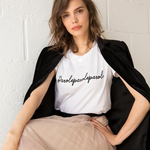 T-Shirt Parole Parole Parole