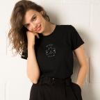 T-Shirt My Boobs My Rules Noir