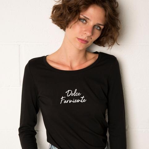 T-Shirt Dolce Far Niente Manches Longues