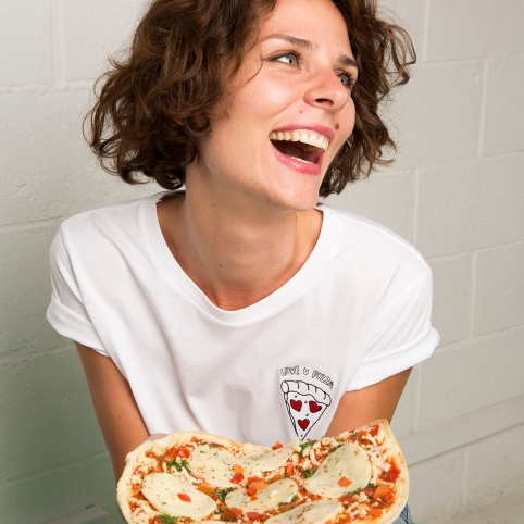 T-Shirt Love u Pizza