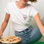 T-Shirt Love u Pizza