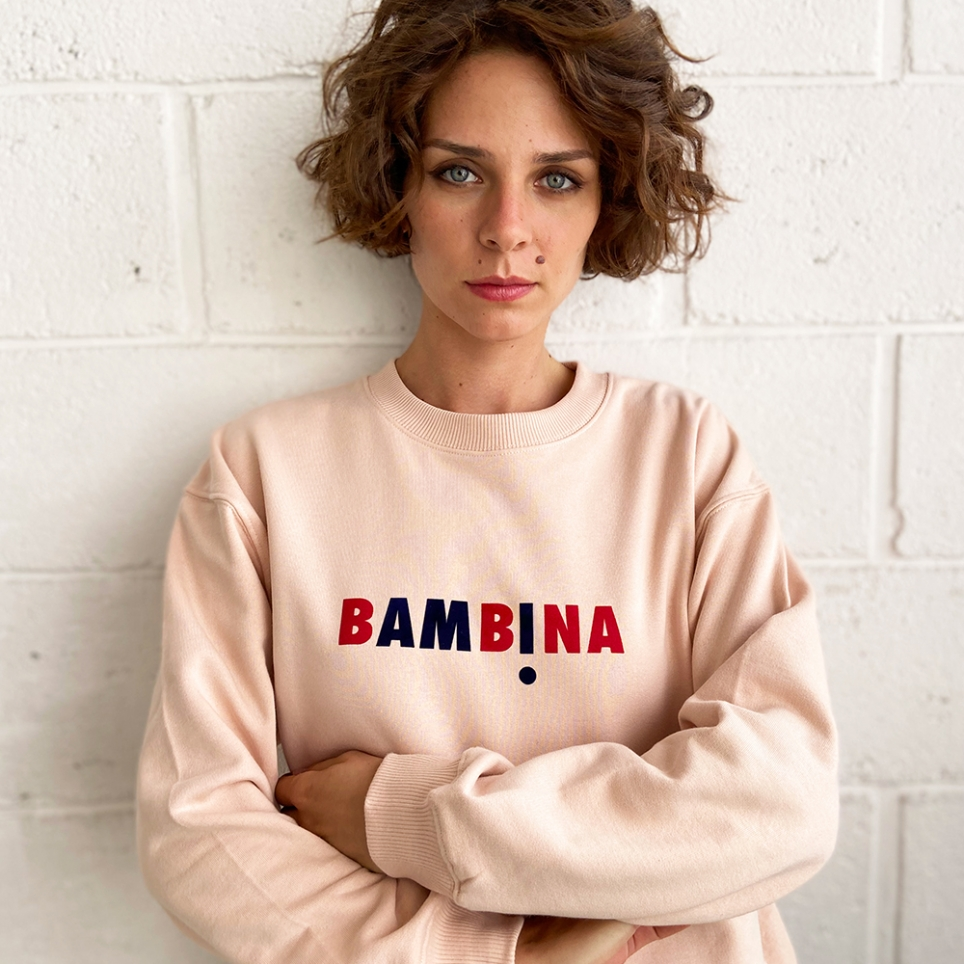 Sweat Rose Bambina