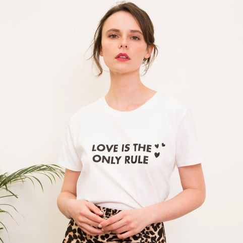 T-Shirt Love is the Only Rule