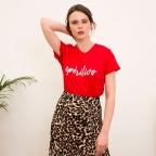 T-Shirt Aperitivo Rouge