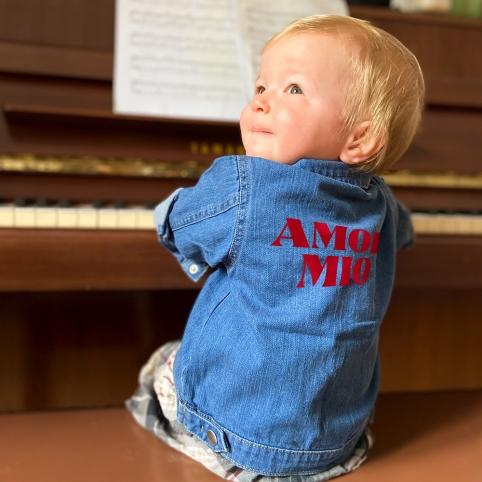 Veste en Jean Amor Mio BABY