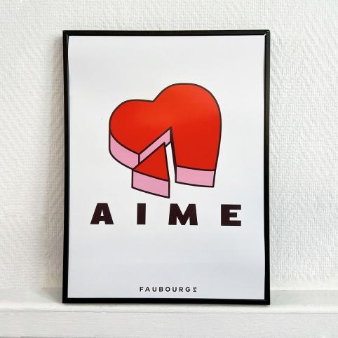 Affiche Aime