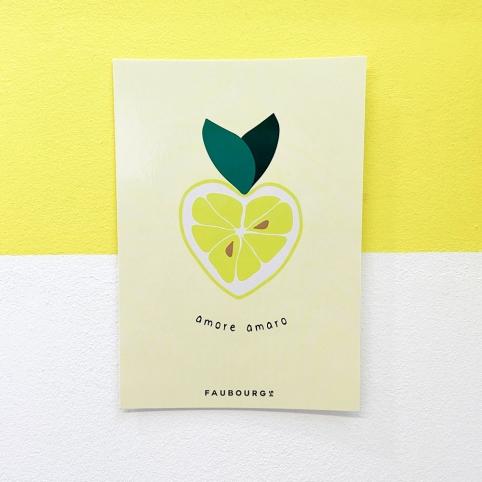 Carte Postale Amore Amaro