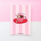 Carte Postale Caffè Per Favore