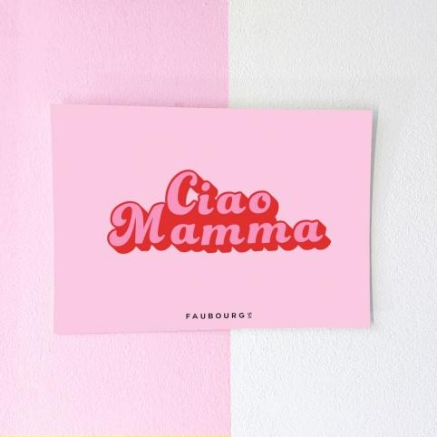 Carte Postale Ciao Mamma